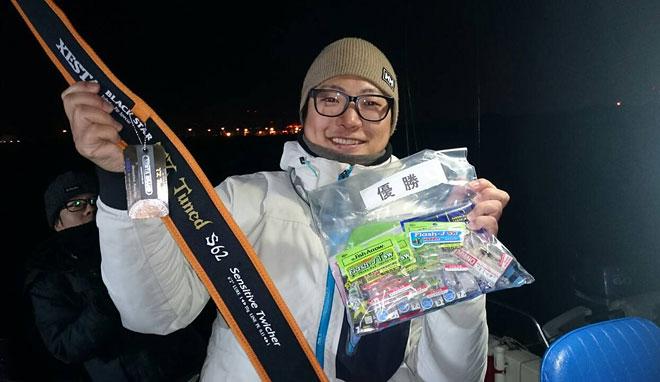 大阪湾チャーター船合同メバル大会優勝!中山氏レポート