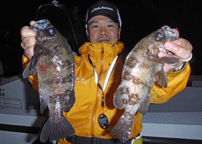 横浜ルアーメバルトーナメント2015 第3戦レポート 澤村智之氏