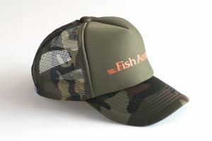 Fish Arrow グリーンモカ×オレンジ