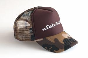 Fish Arrow ブラウンベージュモカ×ホワイト