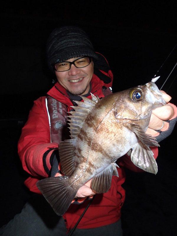 2月25日(水)のThe Hit ! 放送告知! 「大阪湾のメバル&ガシラ大爆釣で竿頭?楠本直樹」