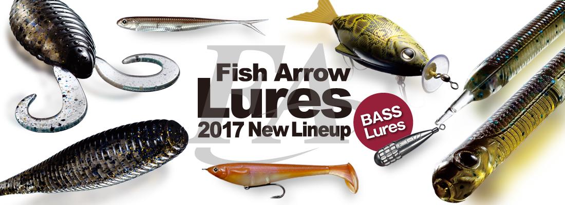 2017年BASSルアー新製品&NEWカラーのご案内