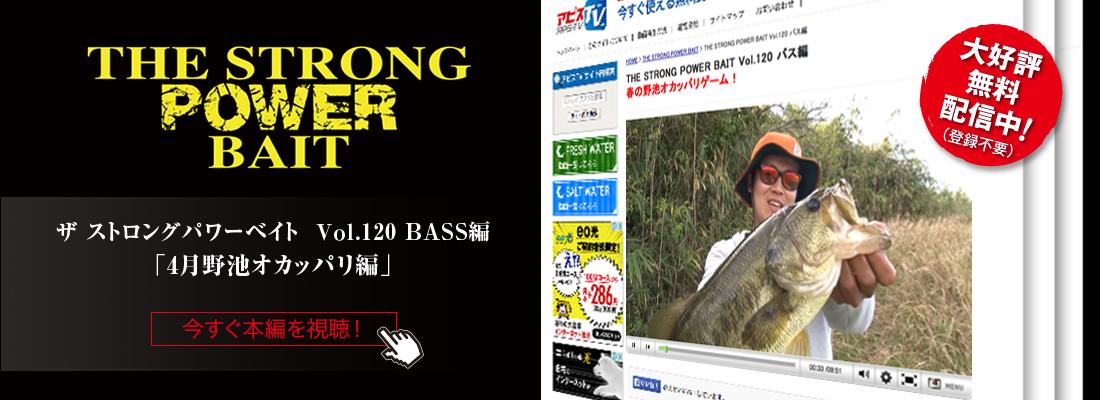 THE STRONG POWER BAIT Vol.120 BASS