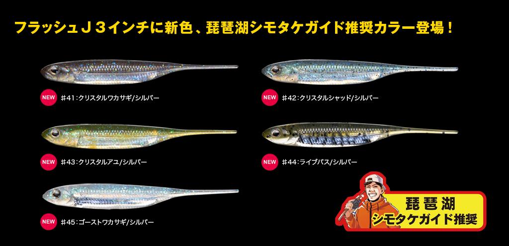 FLASHJ琵琶湖カラー登場
